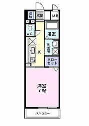 プレ・アビタシオン春日部1[0303号室]の間取り