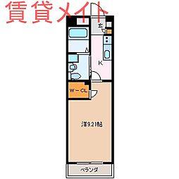 GRAN DUKE鈴鹿[6階]の間取り