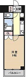 パインフィールド壬生[S910号室号室]の間取り