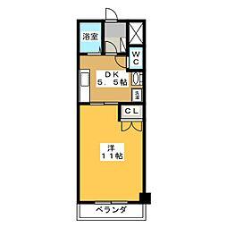 ドリームタウンTAKA[5階]の間取り