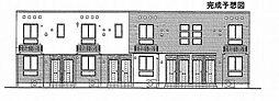 トライブC[1階]の外観