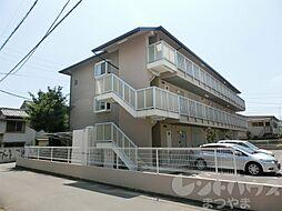 愛媛県松山市南町1丁目の賃貸アパートの外観