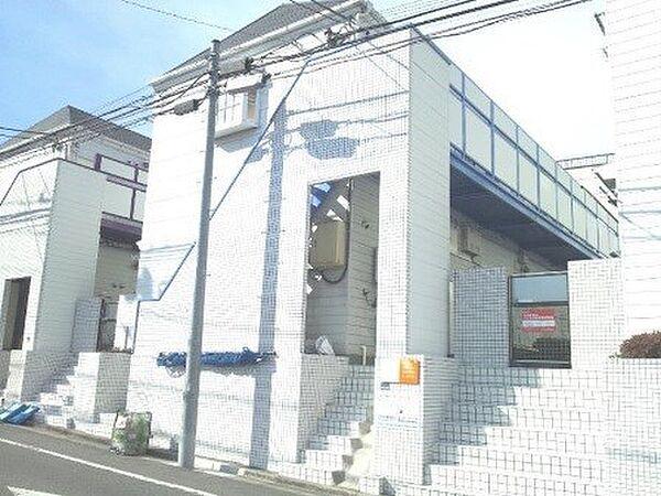 東京都板橋区大原町の賃貸アパートの外観