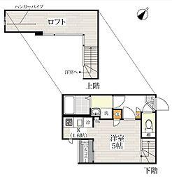 CB川越カローレ[2階]の間取り