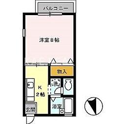 セザール昭和[103号室]の間取り