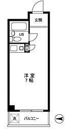 ハイシティ高田馬場[5階]の間取り