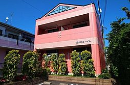 埼玉県草加市長栄2丁目の賃貸アパートの外観