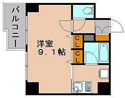 セレスベイサイド博多[5階]の間取り