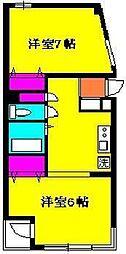 ステージキヨシ[2階]の間取り