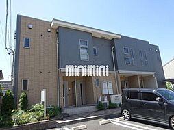 愛知県名古屋市中川区かの里2の賃貸アパートの外観