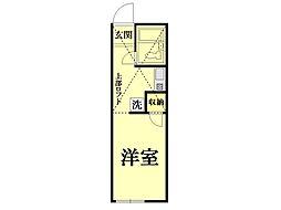 パレス東神奈川[104号室]の間取り