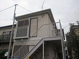 埼玉県蕨市南町4丁目の賃貸アパートの外観