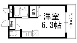サンライズ柴田I[0200号室]の間取り