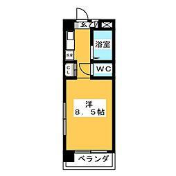 I.S COURT[5階]の間取り