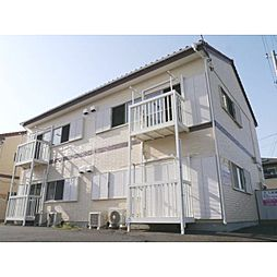 茨城県神栖市平泉の賃貸アパートの外観