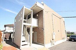 広島県福山市新涯町1丁目の賃貸アパートの外観