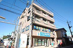 埼玉県越谷市袋山の賃貸マンションの外観