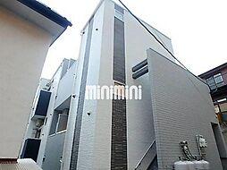 宮城県仙台市若林区石名坂の賃貸アパートの外観