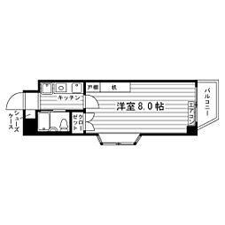 高島平セントラルコート[4階]の間取り