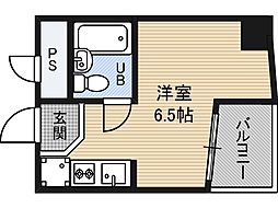 エクセルコート植田[5階]の間取り