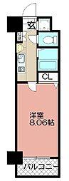 エンクレスト赤坂壱番館(601)[601号室]の間取り
