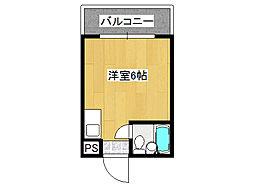 リリーフ明日香新今里[6階]の間取り