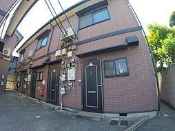兵庫県宝塚市仁川高台1丁目の賃貸アパートの外観