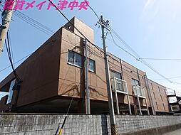 三重県津市一身田中野の賃貸マンションの外観