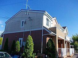 大阪府河内長野市荘園町の賃貸アパートの外観