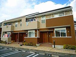 兵庫県姫路市的形町的形の賃貸アパートの外観