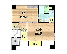 湊川ビル[3階]の間取り
