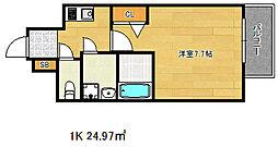ポルト・ボヌール神戸湊川公園[14階]の間取り