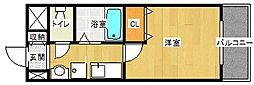 山本グリーンヴィレッジI[2階]の間取り