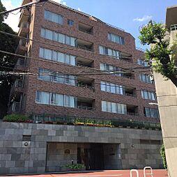 東京都港区麻布永坂町の賃貸マンションの外観