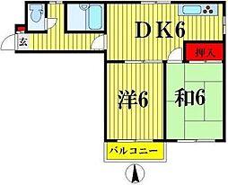 リエス亀戸I[103号室]の間取り