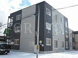 北海道札幌市東区北四十条東7丁目の賃貸マンションの外観