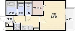 ルピナスD棟[1階]の間取り