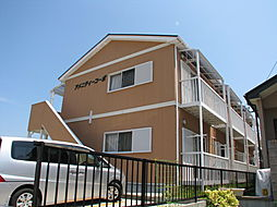 三重県津市藤方の賃貸アパートの外観