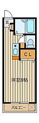 セイコーガーデンふじみ野[1階]の間取り