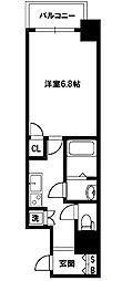 レジュールアッシュプレミアムツインII[9階]の間取り