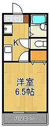 元町ガーデン12[302号室]の間取り