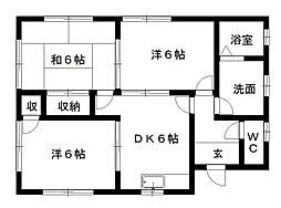 [一戸建] 静岡県浜松市西区大平台3丁目 の賃貸【静岡県 / 浜松市西区】の間取り