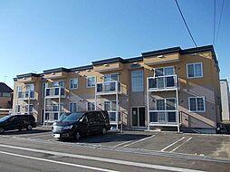 北海道滝川市新町5丁目の賃貸アパートの外観