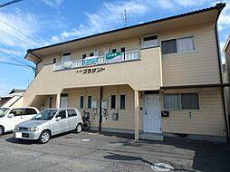 岡山県岡山市南区芳泉4の賃貸アパートの外観