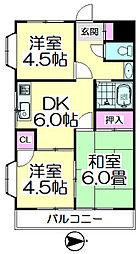 第3山崎マンション[301号室]の間取り