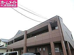 愛知県日進市米野木町油田の賃貸アパートの外観
