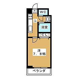 ベターアール吉成[3階]の間取り