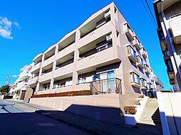 埼玉県朝霞市浜崎3丁目の賃貸マンションの外観