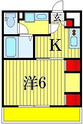 (仮称)リブリ・東四つ木[3階]の間取り