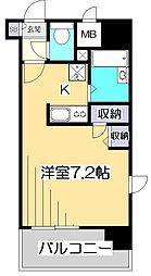 HF国分寺レジデンス[5階]の間取り